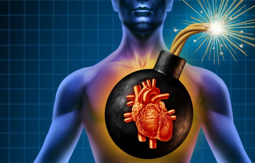 Risco de recorrência é 30% maior nos dez anos após o primeiro infarto
